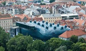 Kunsthaus de Graz (arch. Peter Cook et Colin Fournier, 2003)