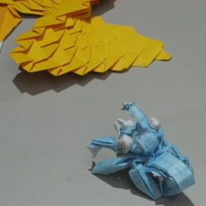 Origamis architecturaux et Tachikoma