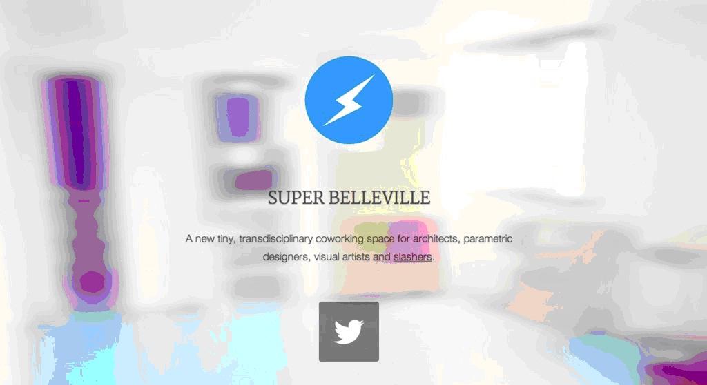 Image: Plateforme coworking pour l'architecture paramétrique, l'urbanisme open-source, la création transmedia, Crédits : superbelleville coworking - superbelleville.org