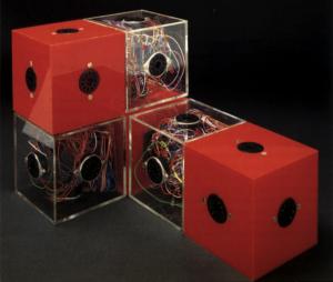 John et Julia Frazer – Prototype de travail d'un système de modélisation en 3D d'intelligence physique, 1980.
