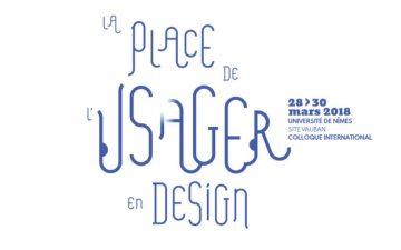 Colloque La place de l'usager en design