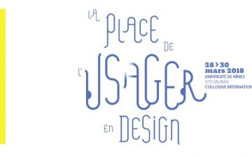 La place de l'usager : retour sur un colloque de design