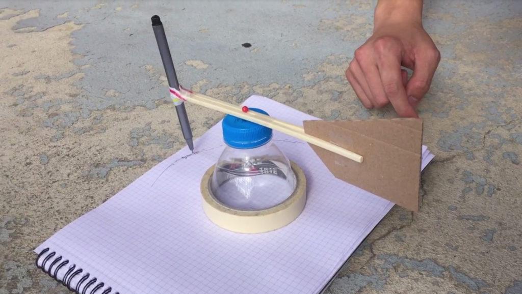 Tests de l'appareil de mesure du vent