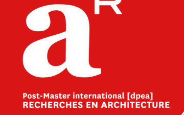 Post-Master recherches en architecture de l'ENSA-La Villette